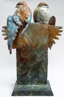 Union Bronze Sculpture 19 in Sculpture by Leo E. Osborne