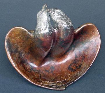Morning Song Bronze Sculpture Sculpture by Leo E. Osborne