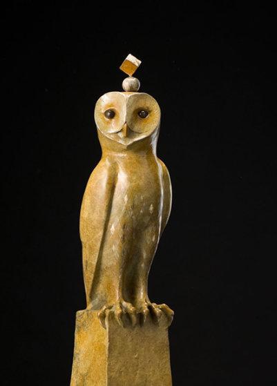 Magi Bronze Sculpture 39 in  Sculpture by Leo E. Osborne