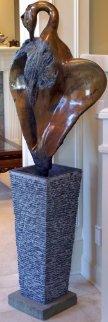 Of Grace Bronze Sculpture 39 in Sculpture by Leo E. Osborne