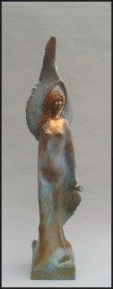 Peace Angel Bronze Sculpture 48 in Sculpture - Leo E. Osborne