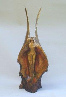 Phoenix Rising Bronze Sculpture 32 in Sculpture by Leo E. Osborne
