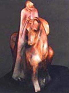 Visionary Bronze Sculpture 22 in Sculpture by Leo E. Osborne