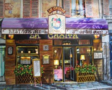Restaurante La Casita 2000 Limited Edition Print - Arkady Ostritsky