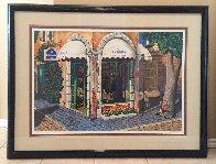 La Couronne Restaurant 2000 Embellished Limited Edition Print by Arkady Ostritsky - 4
