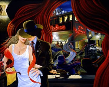 Palace Limited Edition Print - Victor Ostrovsky