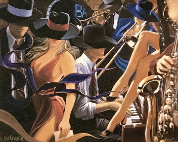 Speakeasy 2002 Limited Edition Print - Victor Ostrovsky
