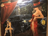 Puppeteer 2003 50x65 Super Huge Original Painting by Victor Ostrovsky - 1