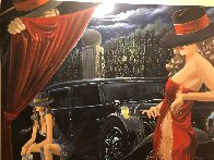 Puppeteer 2003 50x65 Super Huge Original Painting by Victor Ostrovsky - 2