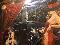 Puppeteer 2003 50x65 Super Huge Original Painting by Victor Ostrovsky - 0