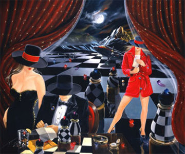 Game Limited Edition Print by Victor Ostrovsky