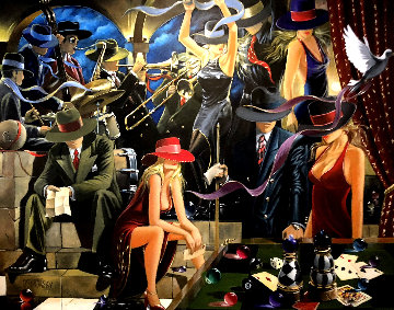 End Game AP 2003 Limited Edition Print by Victor Ostrovsky