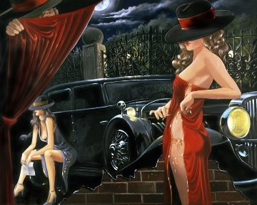 Puppeteer  AP 2005 Limited Edition Print by Victor Ostrovsky