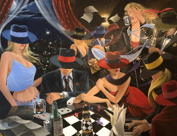 Party AP 2005 Limited Edition Print by Victor Ostrovsky