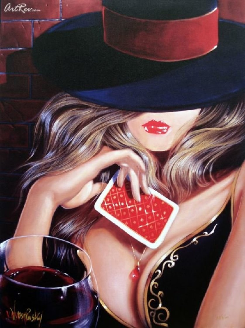 Playing It Close on Canvas Limited Edition Print by Victor Ostrovsky