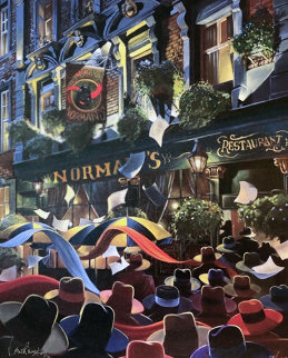 Norman's Restaurant 2001 London Limited Edition Print - Victor Ostrovsky