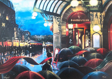 Reflections Limited Edition Print by Victor Ostrovsky