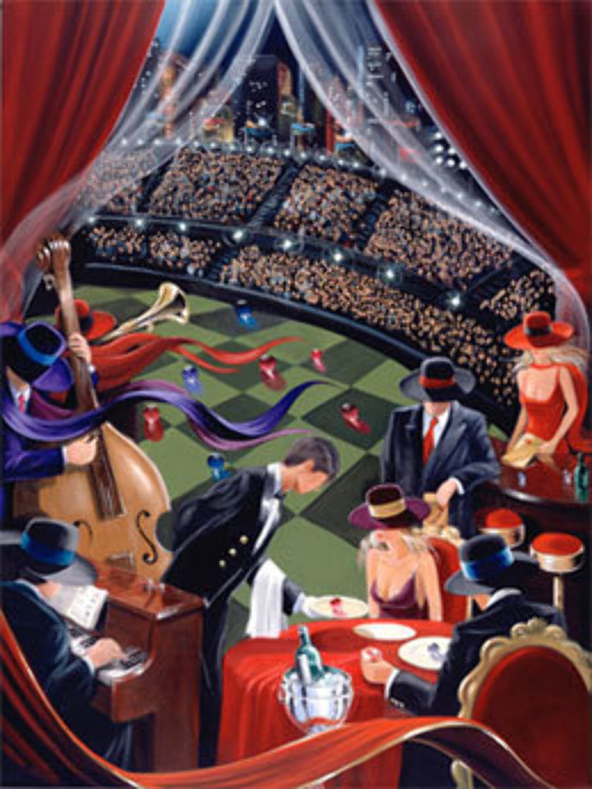 Dish - Huge Limited Edition Print by Victor Ostrovsky