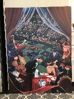 Dish - Huge Limited Edition Print by Victor Ostrovsky - 1