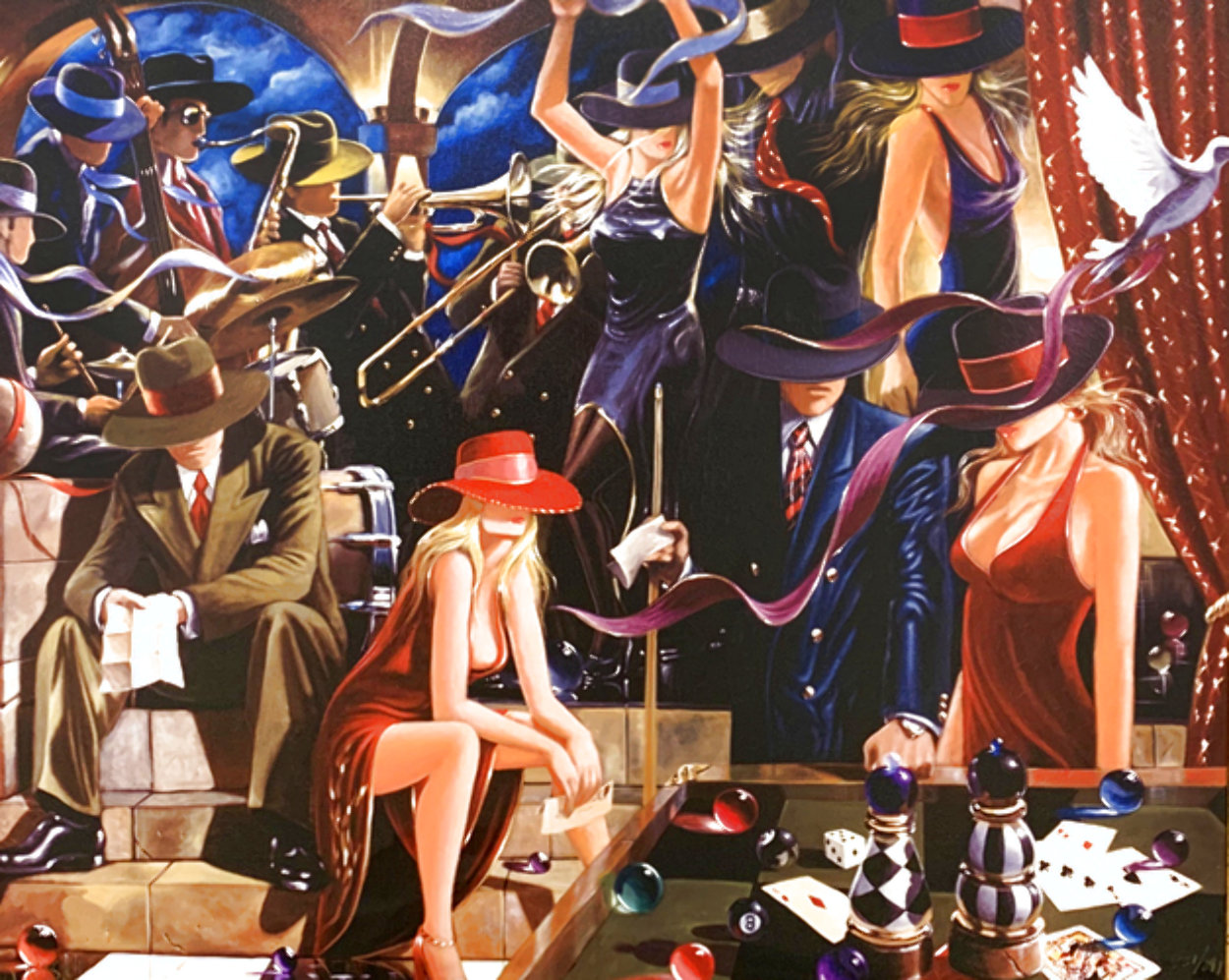 End Game 2005 Limited Edition Print by Victor Ostrovsky