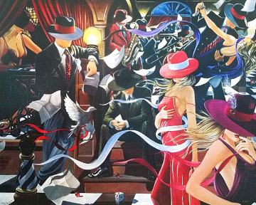 Club 2007 Limited Edition Print - Victor Ostrovsky