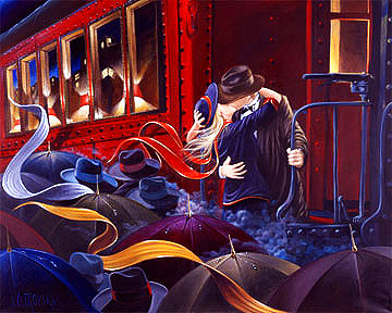 Last Farewell 1990 Limited Edition Print - Victor Ostrovsky