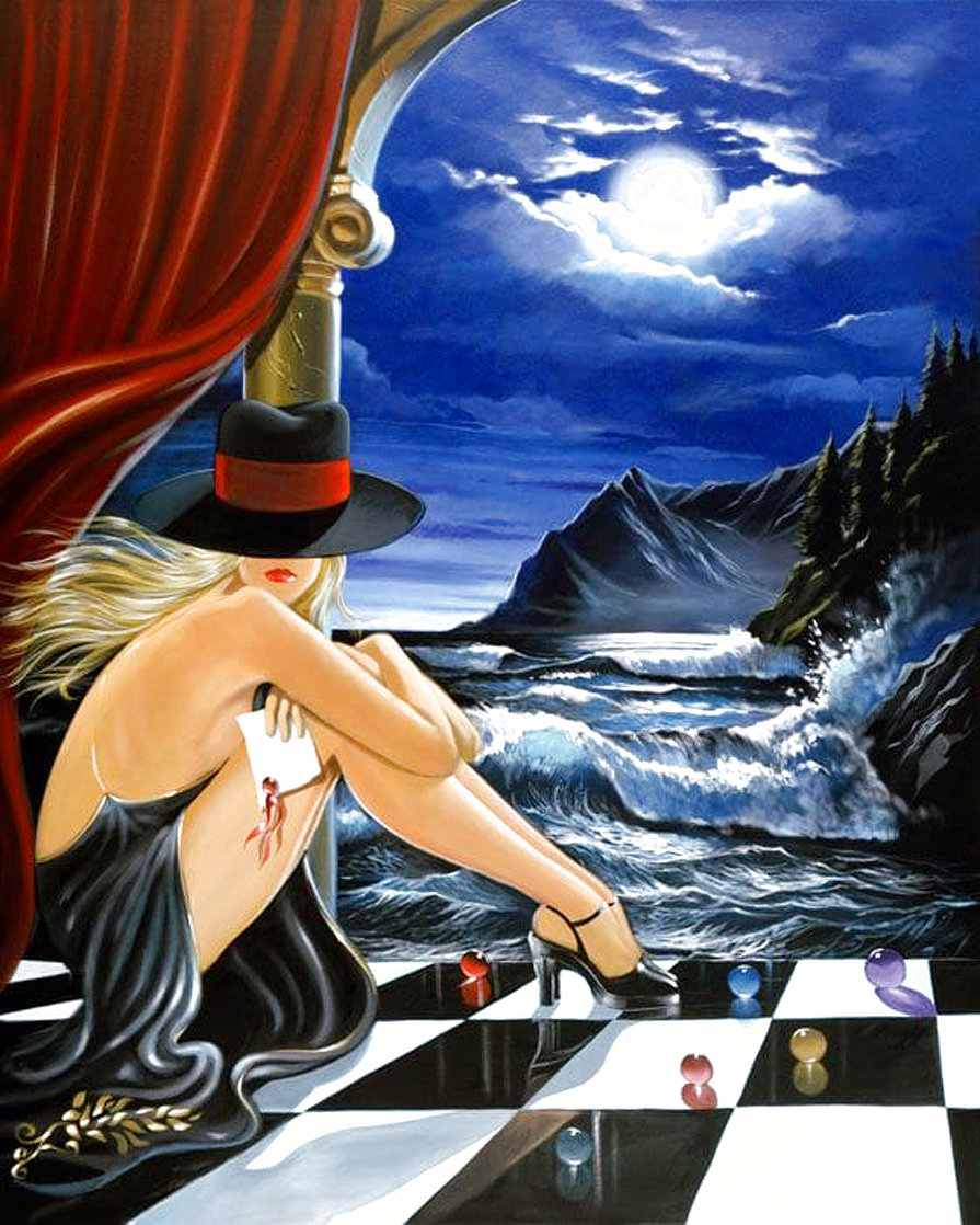 Messenger 1990 Limited Edition Print by Victor Ostrovsky