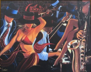 Speakeasy II Limited Edition Print by Victor Ostrovsky