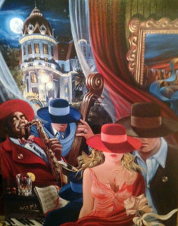 Avenue of the Angels 2003 Limited Edition Print - Victor Ostrovsky