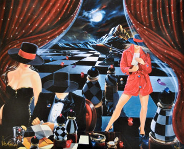Game 2003 Embellished Limited Edition Print - Victor Ostrovsky