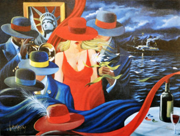 Liberty 2003 Limited Edition Print by Victor Ostrovsky