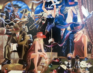 End Game 2003 40x50 Limited Edition Print - Victor Ostrovsky