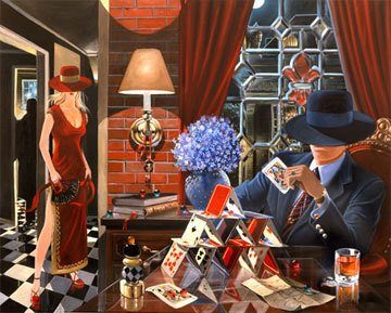 House of Cards 2003 Limited Edition Print by Victor Ostrovsky