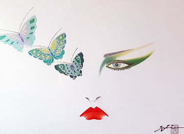 Eyes of Otsuka Butterflies 1980 Limited Edition Print - Hisashi Otsuka