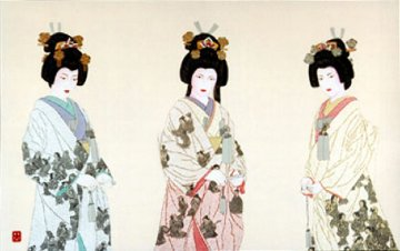 Three Eternal Brides 1993 Limited Edition Print - Hisashi Otsuka