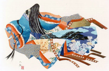Legend of the Twelve Kimonos 1984 Limited Edition Print - Hisashi Otsuka