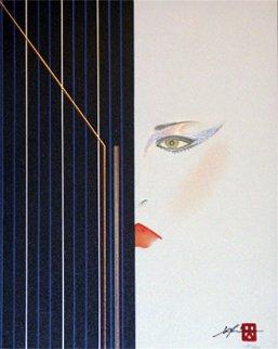 Black Bars Eyes of Otsuka  1980 Limited Edition Print by Hisashi Otsuka