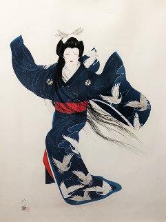 Lady Mieko of Summer 1983 Limited Edition Print by Hisashi Otsuka