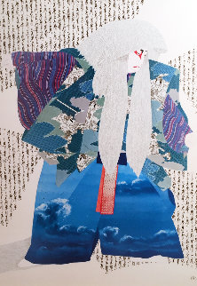 White Lion 1982 Limited Edition Print - Hisashi Otsuka