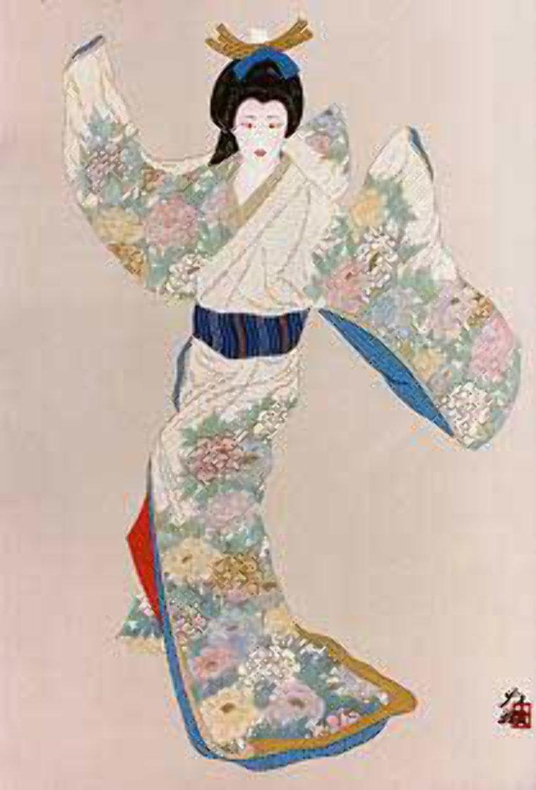 Lady Mieko of Summer Limited Edition Print by Hisashi Otsuka
