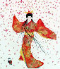 Lady of Floating Blossoms 1999 Limited Edition Print by Hisashi Otsuka - 0