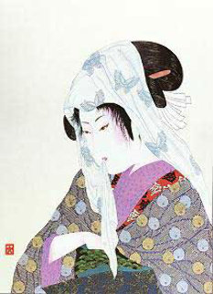 Love's Discretion Limited Edition Print by Hisashi Otsuka