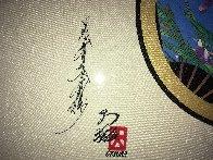 Family Crest 29x37 Original Painting by Hisashi Otsuka - 2