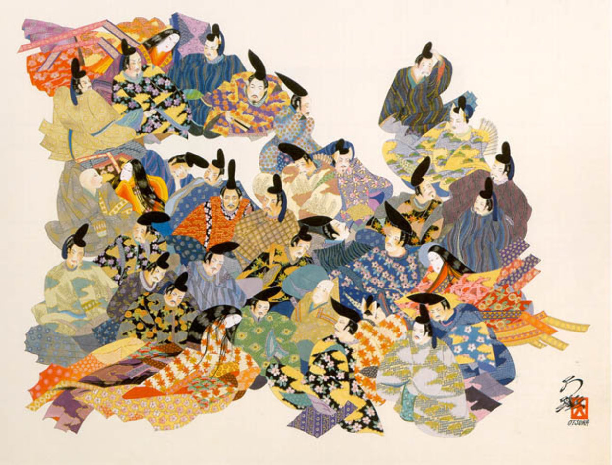 36 Immortal Poets 1984 Limited Edition Print by Hisashi Otsuka