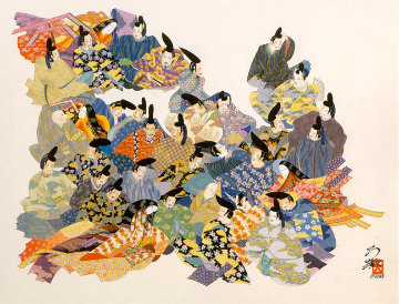 36 Immortal Poets 1984 Limited Edition Print - Hisashi Otsuka