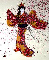 Blossoms of Spring 1994 Limited Edition Print by Hisashi Otsuka - 0