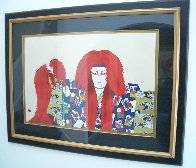 Lion of Fire 1980 Limited Edition Print by Hisashi Otsuka - 1
