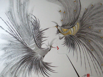 Double Kiss 1990 Limited Edition Print by Hisashi Otsuka
