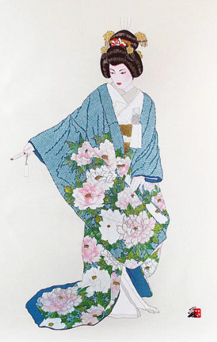 Hanayome Happiness Limited Edition Print by Hisashi Otsuka