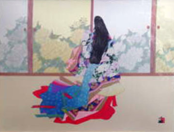 Graceful Elegance 1989 Limited Edition Print - Hisashi Otsuka